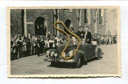 Photo Originale Guerre 39-45  Format : 135*85 Mm COLMAR 24 Juillet 1945 Général Delattre De Tassigny   A VOIR  !!! - Guerre, Militaire