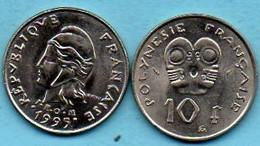 R13/  FRENCH  POLYNESIE  10 Francs 1995 - Polynésie Française