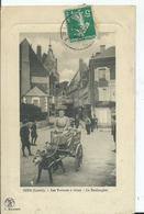 GIEN - Les Voitures à Chien - La Boulangère (circulée 1911) - Gien