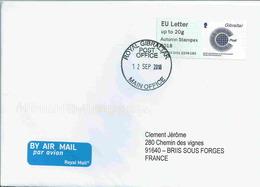 Vignette D'affranchissement IAR - ATM - CCPA - Conférence Des Administrations Postales Du Commonwealth - Autumn Stampex - Gibraltar