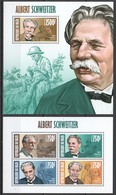 ST2865 2013 NIGER FAMOUS PEOPLE ALBERT SCHWEITZER 1KB+1BL MNH - Albert Schweitzer