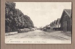 CPA 88 - NEUFCHATEAU - Quartier Rébéval - Les Ecuries Et Hangars - TB PLAN Caserne Militaire Chevaux - Neufchateau