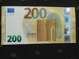 200 Euro SE - S005, ITALY, M. DRAGHI, ...UNC, NEUF, FDS - EURO