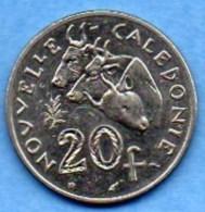 R13/ NEW CALEDONIA 20 Francs 1983 NOUVELLE CALEDONIE - Nouvelle-Calédonie