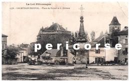 46  Lacapelle Marival   Hôtel Destruel Place Du Foirail - Lacapelle Marival