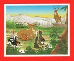 Bambi Disney Grenada & Grenadines Series 5 $ SHEET MNH - Disney