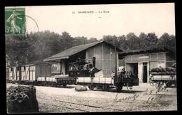 ALGERIE, Marengo, Gare - Autres Villes