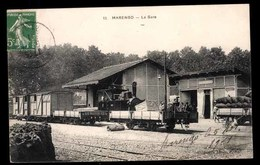 ALGERIE, Marengo, Gare - Algérie