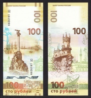 RUSSIA 100 Rubles 2015 CRIMEA , Banknotes Of Russia. UNC - Russia
