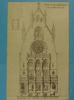 Bruxelles Eglise Du Gésu Projet D'agrandisement Vers La Rue Royale - Monuments, édifices