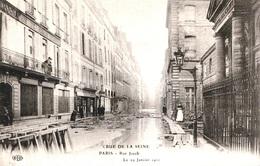 INONDATIONS - RUE JACOB   Bb-973 - Paris Flood, 1910