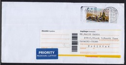 Save The Nature, WWF, Special Slogan Postmark On Cover Postal Used From GERMANY 2016 - W.W.F.