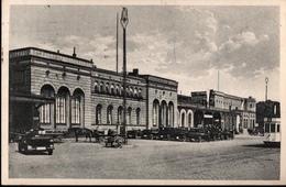 ! Alte Ansichtskarte Aus Königsberg, 1929, Ostbahnhof, Dworzec, Straßenbahn, Tramway, Ostpreußen - Ostpreussen