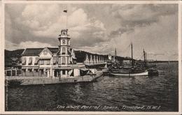 ! Alte Ansichtskarte The Wharf, Port Of Spain, Trinidad, B.W.I., Ships - Trinidad