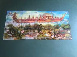 Thailand - Royal Barge Puzzle 12 Cards - Tailandia