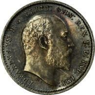 Monnaie, Grande-Bretagne, Edward VII, 2 Pence, 1905, SPL, Argent, KM:796 - 1902-1971: Postviktorianische Münzen