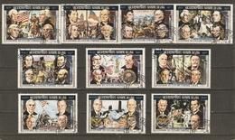 Laos 1975 - Bicentenaire Des USA, Présidents Américains - Série Complète 286A/Hh -  PA 119A/Bb - Laos