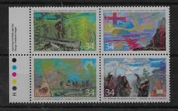 Serie De Canadá Nº Yvert 983/86 ** - 1952-.... Reinado De Elizabeth II