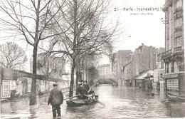 INONDATIONS - LA RUE GROS    BB-994 - Inondations De 1910