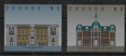 Serie De Canadá Nº Yvert 1354/55 ** - 1952-.... Reinado De Elizabeth II