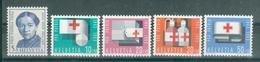 SUISSE ; Pro Patria ; 1963 ; Y&T N° 711 à 715 ; Lot: 06 ; Neuf Ttbe - Pro Patria