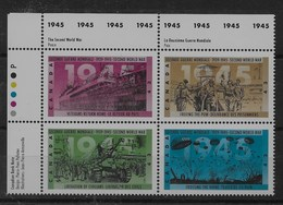 Serie De Canadá Nº Yvert 1398/01 ** - 1952-.... Reinado De Elizabeth II
