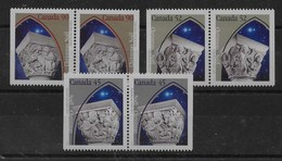 Serie De Canadá Nº Yvert 1444a/46a ** - 1952-.... Reinado De Elizabeth II