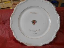 PÉTANQUE - Assiette Diamètre 26cm- Pétanque Plainpalais - GENÈVE - Bowls - Pétanque