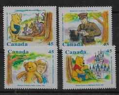 Serie De Canadá Nº Yvert 1496/99 ** - 1952-.... Reinado De Elizabeth II
