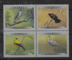 Serie De Canadá Nº Yvert 1633/36 ** AVES (BIRDS) - 1952-.... Reinado De Elizabeth II