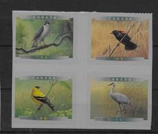 Serie De Canadá Nº Yvert 1637/40 ** AVES (BIRDS) - 1952-.... Reinado De Elizabeth II