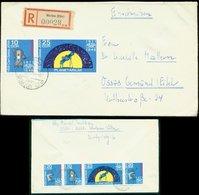 S7444 - DDR Planetarium ZD Auf R - Briefumschlag:gebraucht Werben Elbe - Gemünd Eifel 1971, Bedarfserhaltung. - DDR
