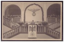 GG (w00037) Propaganda Foto- AK Hans Frank, Während Einer Rede I.d. Bergbau-Fakultät Universität Krakau, Um 1941, Ungel - Besetzungen 1938-45