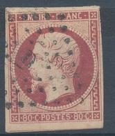 N°17 NUANCE ET OBLITERATION. - 1853-1860 Napoléon III