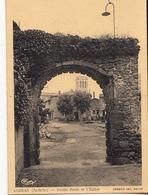07- Sarras  Vieille Porte Et L Eglise - Other Municipalities