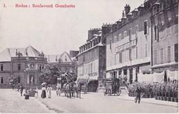 CPA - 1. RODEZ - Boulevard Gambetta - Rodez
