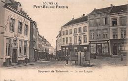 La Rue Longue Souvenir De Tirlemont Tienen - Tienen