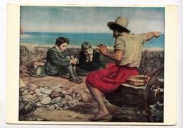 THE BOYHOOD OF RALEIGH, SIR JOHN MILLAIS, Used Postcard [23367] - Paintings