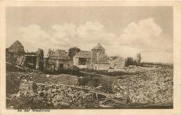 MESNIL EN ARROUAISE  CARTE ALLEMANDE 1916 - France