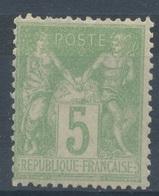 N°102 NEUF (**) - 1876-1878 Sage (Tipo I)