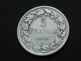 5 Francs 1948 - BELGIQUE - LEOPOLD PREMIER ROI DES BELGES     **** EN ACHAT IMMEDIAT **** - 1831-1865: Léopold I