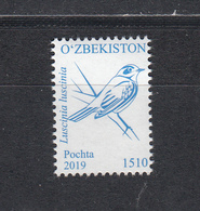 Uz 1341 Uzbekistan Usbekistan 2019 Bird Definitv - Usbekistan