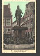 Tongeren - Standbeeld Van Ambiorix - Gekleurd - Uitgave Jozef Swennen, Tongeren - Tongeren