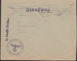 Poland, Generalgouvernement FELDPOST, Feldzeug-Dienststelle Warschau 1942 - Heeres-Zeugamt WIEN. - Occupation 1938-45