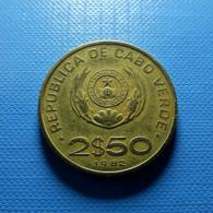 Cabo Verde 2 1/2 Escudos 1982 - Cap Vert