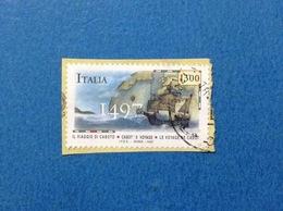 1997 CABOTO ITALIA FRANCOBOLLO USATO STAMP USED - 6. 1946-.. Repubblica