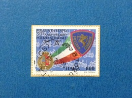 1997 POLIZIA DI STATO ITALIA FRANCOBOLLO USATO STAMP USED - 6. 1946-.. Repubblica