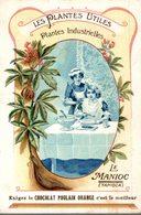 CHOCOLAT POULAIN ORANGE - LES PLANTES UTILES - LE MANIOC - Poulain