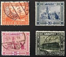 1923 Heimische Bilder In Größerem Format Mit Farbänderungen Mi. 98 - 101 - 1920-35 Société Des Nations