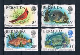 Bermuda 1978 Vogel/Fische Mi.Nr. 356/60/61/65 Gestempelt - Bermuda